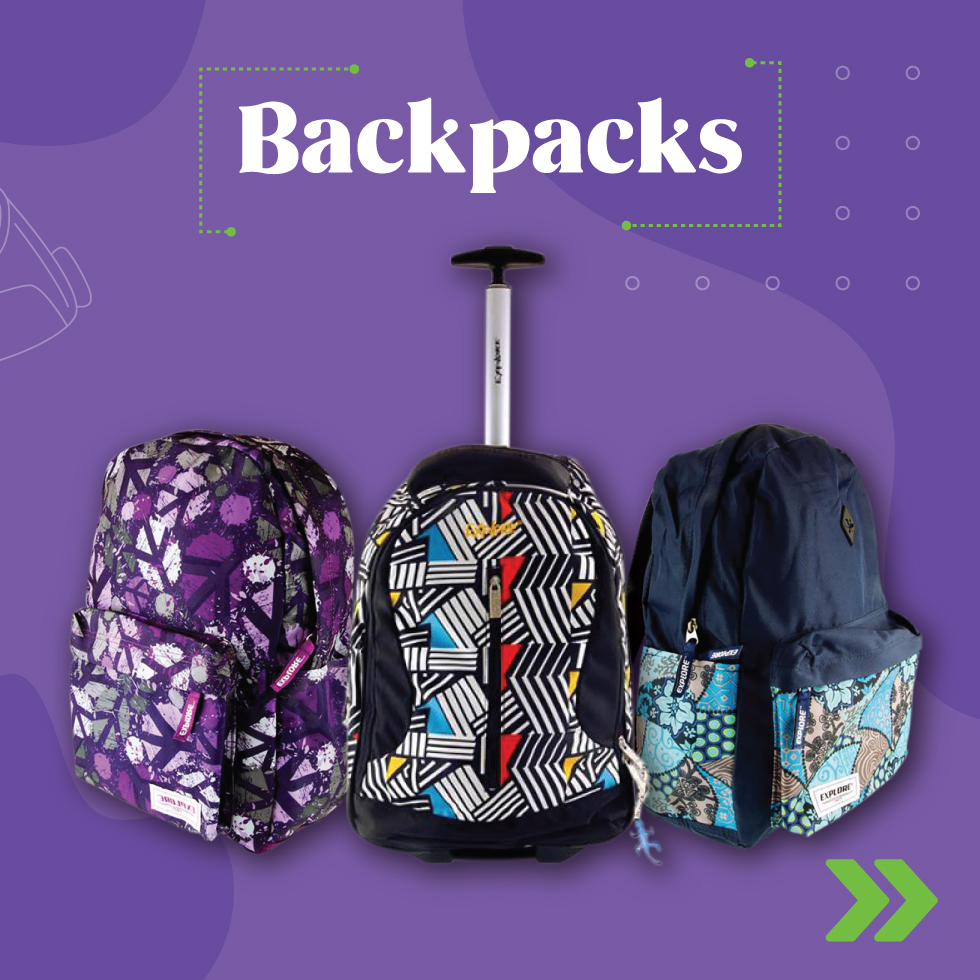 School Backpacks Bags | Back 2 School | Writeaway.ie