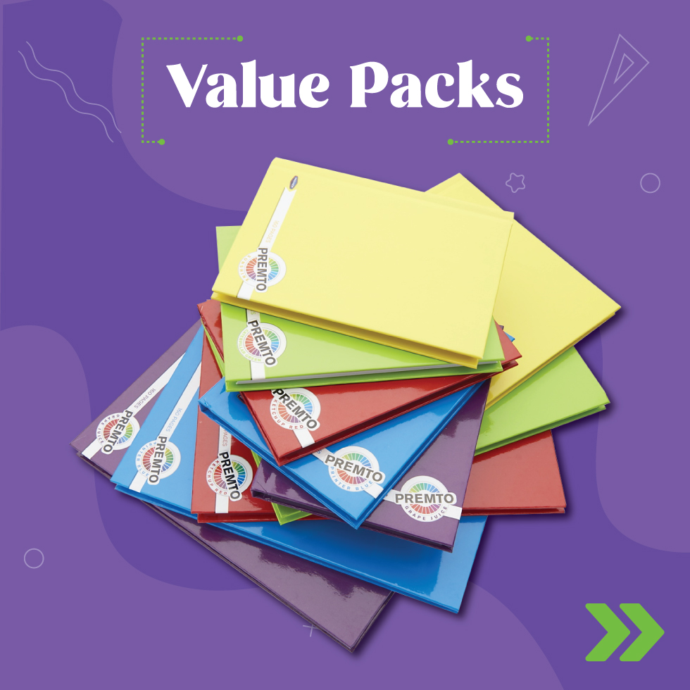 Value Packs  | Back 2 School | Writeaway.ie