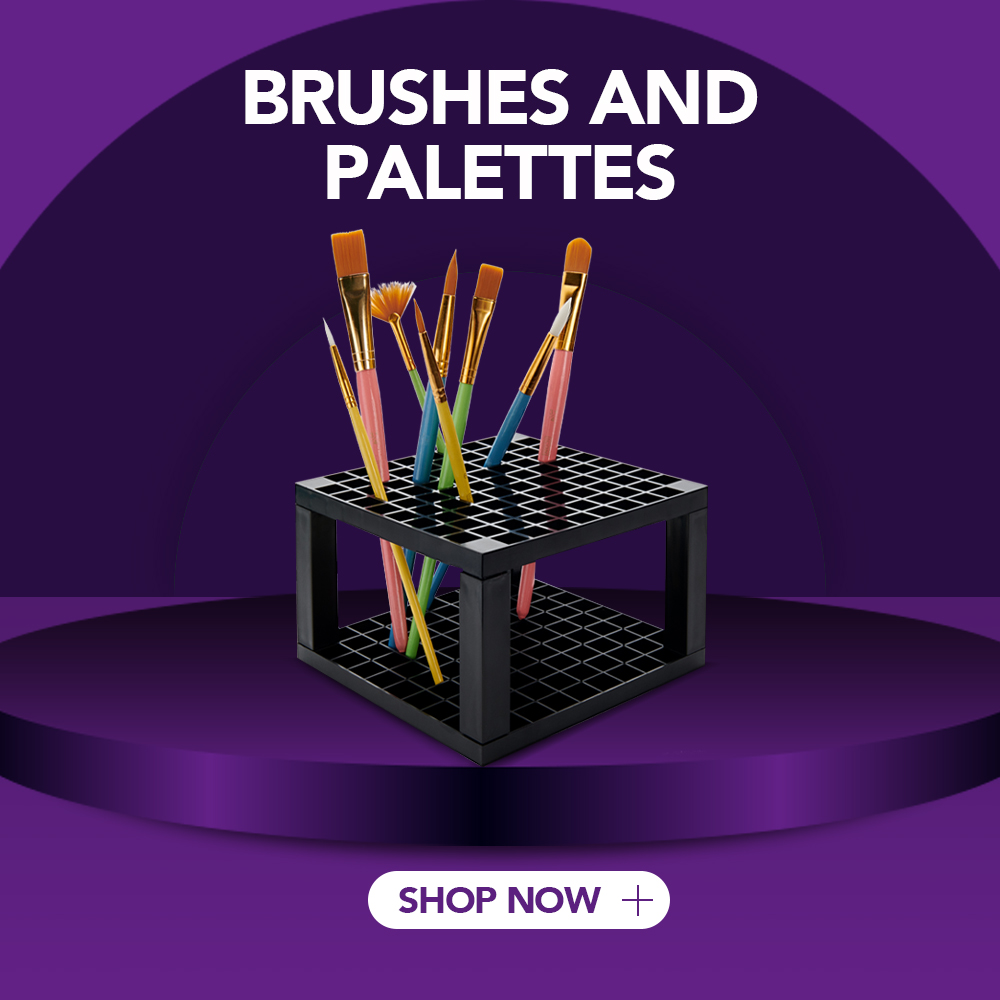 Brushes and Palettes | writeaway.ie