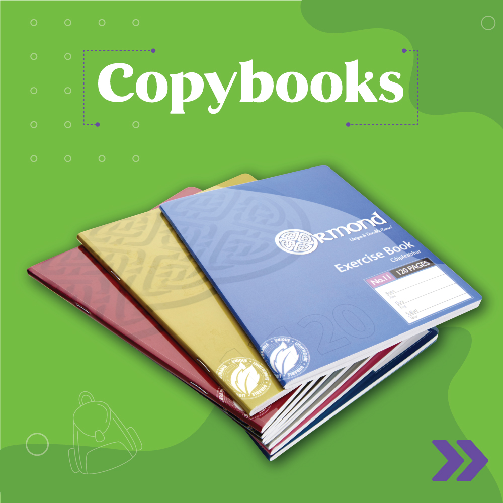Copybooks/Copies | Back 2 School | writeaway.ie