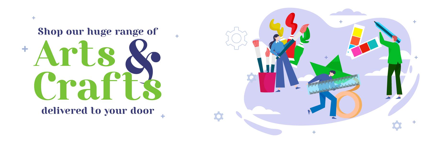 Arts & Crafts | Writeaway.ie online arts and crafts delivered Ireland
