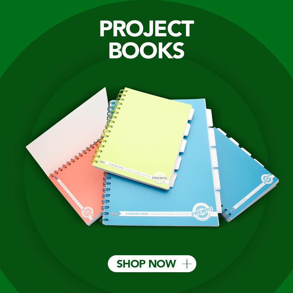 Project Books | Writeaway.ie