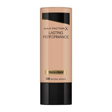 MAX FACTOR FOUNDATION LASTING PERFORMANCE 109 NATURAL BRONZE