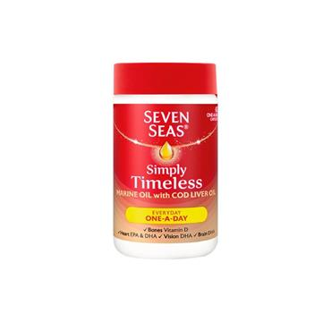 SEVEN SEAS COD LIVER OIL CAPS ONE A