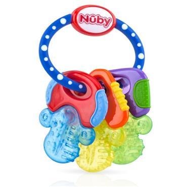 NUBY ICE BITE KEYS TEETHER 3MONTHS+
