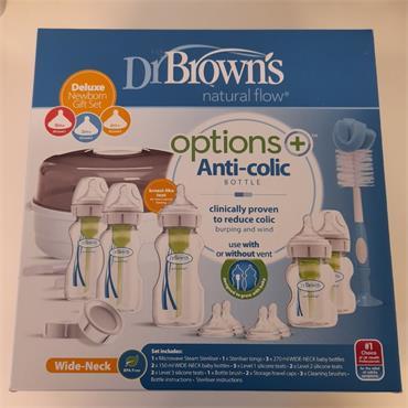 DR BROWN S DELUXE NEWBORN GIFT SET
