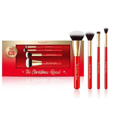 BLANK CANVAS XMAS QUAD BRUSH SET