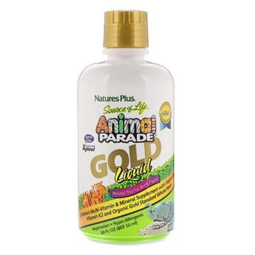 NATURESPLUS ANIMAL PARADE GOLD LIQUID KIDS 480ML