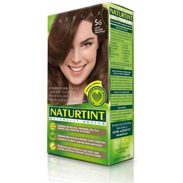 NATURTINT HAIR COLOUR 5G LIGHT GOLDEN CHESTNUT