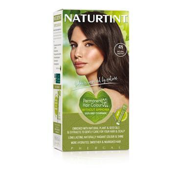 NATURTINT HAIR COLOUR 4N NATURAL CHESTNUT