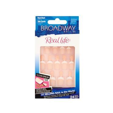 BROADWAY REAL LIFE PINK SHORT NAILS