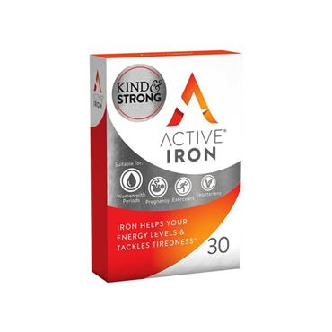 ACTIVE IRON CAPSULES 14MG 30S