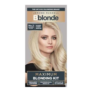 JEROME RUSSELL BBLONDE MAX BLONDING KIT 2 BLONDE/MED BROWN
