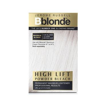 JEROME RUSSELL BLONDE HIGHLIFT POWDER BLEACH BLONDE/DARK BROWN