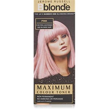 JEROME RUSSELL BBLONDE PINK MAX COLOR TONER