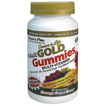 NATURESPLUS ADULT GOLD GUMMIES 60S