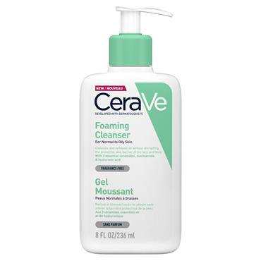 CERAVE FOAMING CLEANSER GEL 236ML