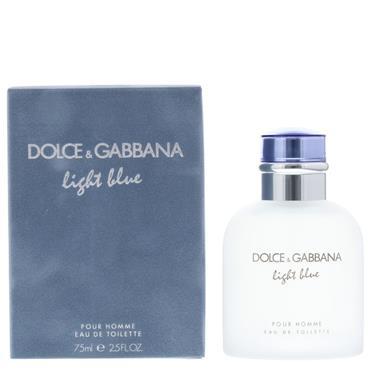 DOLCE & GABBANA LIGHT BLUE MAN EDT 75MLD
