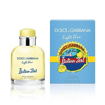 DOLCE & GABBANA LIGHT BLUE ITALIAN ZEST HOMME EDT 75ML