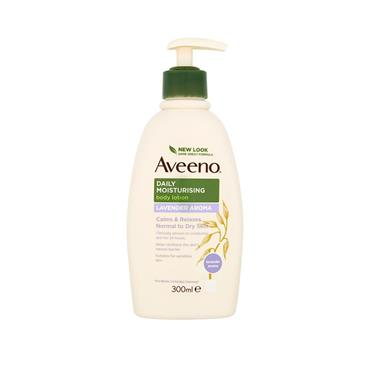 AVEENO DAILY MOIST LAVENDER LTN 300ML