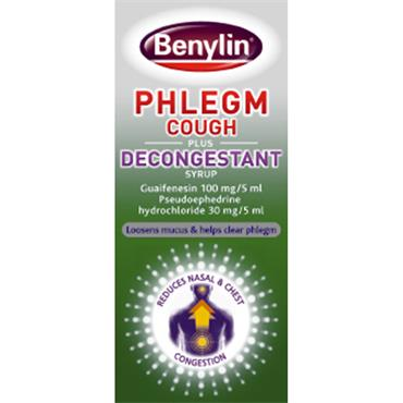 BENYLIN PHLEGM COUGH & DECONGESTANT
