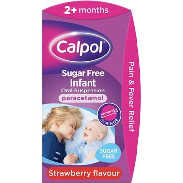 CALPOL INFANT SUSPENSION SUGAR FREE