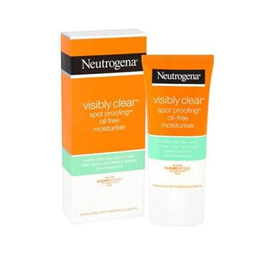 NEUTROGENA VISIBLY CLEAR OIL FREE M