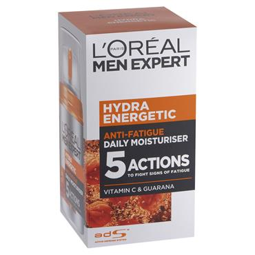 LOREAL MEN EXPERT HYDRA ANTI FATIQUE 50ML DAILY MOISTURISER
