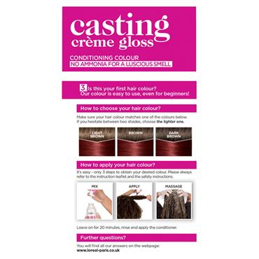LOREAL CASTING 460 CHERRY RED