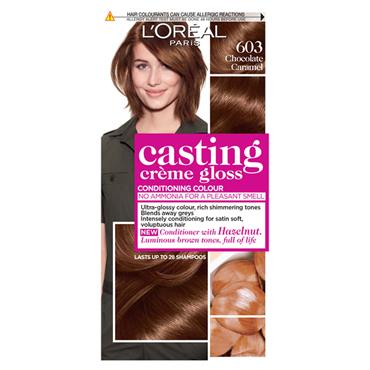 LOREAL CASTING CREME GLOSS 603 CHOCOLATE CARAMEL