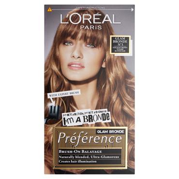 LOREAL PREFERENCE BALAYAGE DARK BLONDE/LIGHT BROWN