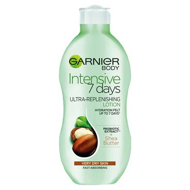 GARNIER BODY 7 DAYS SHEA MILK