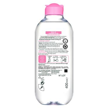 GARNIER MICELLAR CLEANSING WATER SENSITIVE