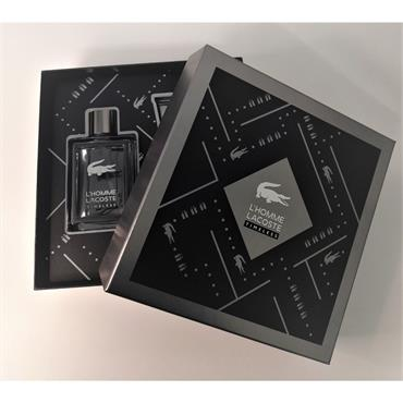 LACOSTE L HOMME TIMELESS 100ML EDT GIFTSET