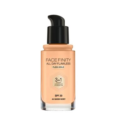 MAX FACTOR FACEFINITY FOUND 3IN1 FOUNDATION 45 WARM ALMOND