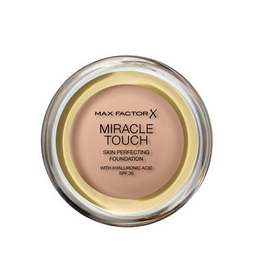 MAX FACTOR MIRACLE TOUCH FOUNDATION 045 WARM ALMOND