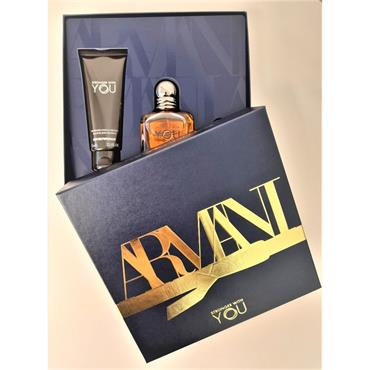 ARMANI STRONGER WITH YOU 50ML EDT GIFTSET