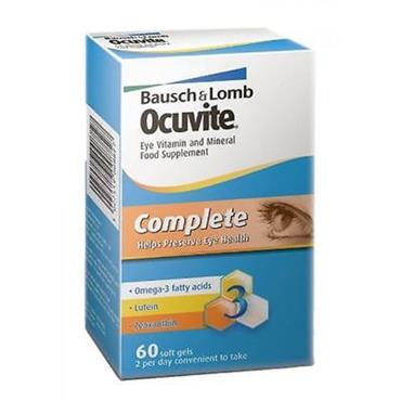 OCUVITE COMPLETE SOFT GELS 60S