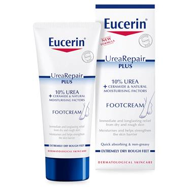 EUCERIN UREA REPAIR 10% FOOT CREAM