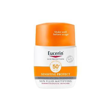 EUCERIN 50+ SENSITIVE SUN FLUID 50M