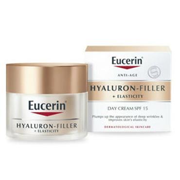EUCERIN HYALURON FILLER + ELASTICITY DAY CREAM SPF15 50ML