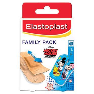ELASTOPLAST FAMILY PACK DISNEY PLASTERS 40S