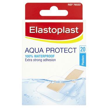 ELASTOPLAST AQUA PROTECT WATERPROOF 20 PLASTERS