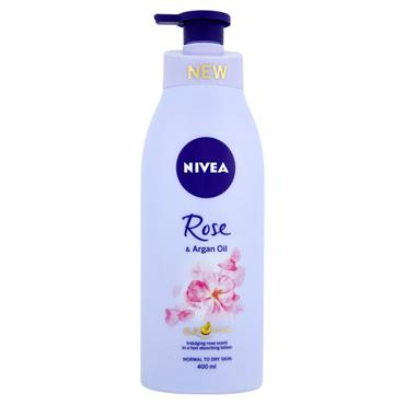 NIVEA ROSE & ARGAN OIL BODY LOTION