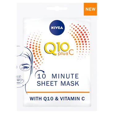 NIVEA Q10 VITAMIN C ENERGY SHEET MA