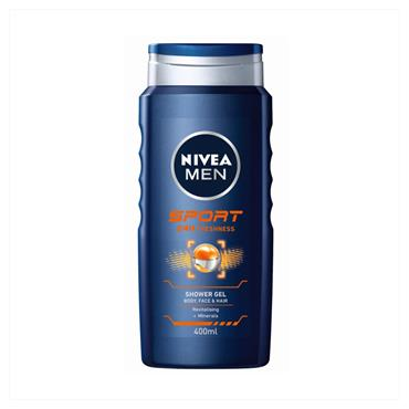 NIVEA MEN SPORT SHOWER GEL 400ML