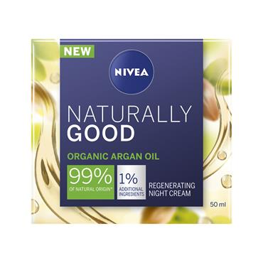 NIVEA NATURALLY GOOD ORGANIC ARGAN