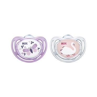 NUK SKIN FRIENDLY 0.6MTH SILICONE D