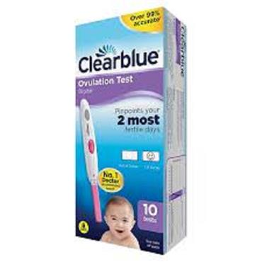 CLEARBLUE OVULATION TEST 10 PK
