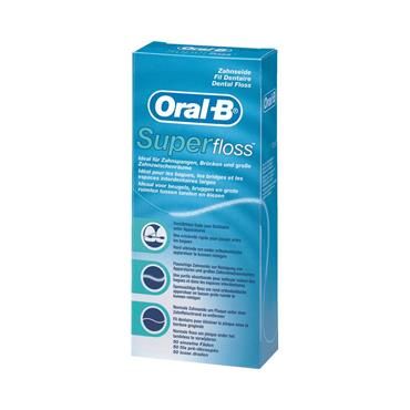 ORAL B SUPER FLOSS STRANDS 50M
